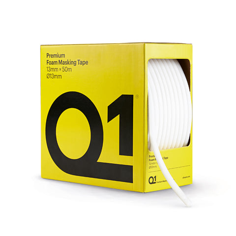 Q1 Premium Foam Masking Tape 13mm x 50m