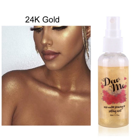 Dew Me Gold Shimmer Spray