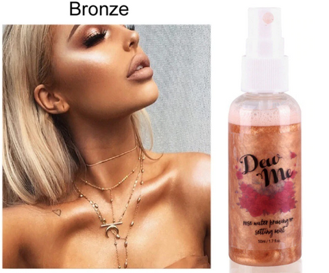 Dew Me Bronze Shimmer Spray