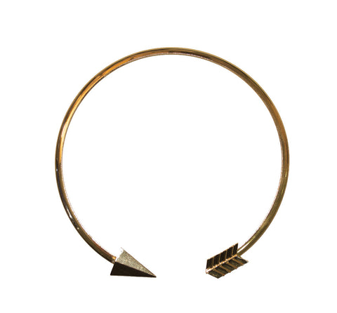 Golden Arrow Metal Choker