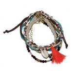 Multi Boho Stacked Bracelet