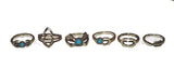 Wanderlust 6 Piece Ring Set