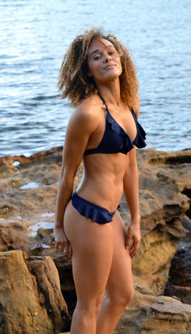 Cheap Thrills Navy Bikini