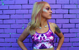 Iris Kaleidoscope Crop Top