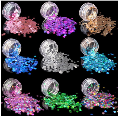Festival Glitter Jars in 9 Colours