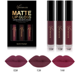 Sultry Red Matte Liquid Lipstick Set