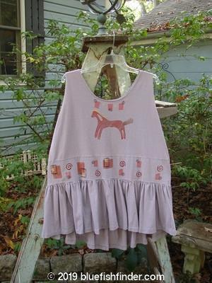 Vintage Blue Fish Clothing 1990 Button Tier Top Pony Clover OSFA- Bluefishfinder.com