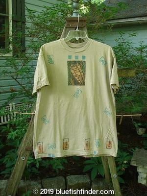 Vintage Blue Fish Clothing 1991 Short Sleeved Tee Fish Border OSFA- Bluefishfinder.com