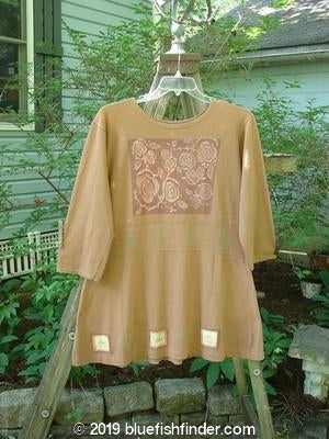 Vintage Blue Fish Clothing 1991 Workshop Dress Sweet Rose Bronze OSFA- Bluefishfinder.com