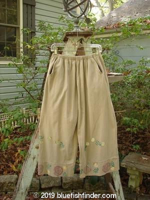 Vintage Blue Fish Clothing 1992 Belle Pant Rose Wheat Size 1- Bluefishfinder.com