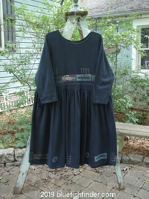 Vintage Blue Fish Clothing 1992 Circus Dress Vintage Car Black OSFA- Bluefishfinder.com