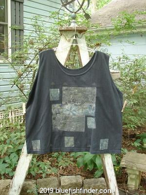 Vintage Blue Fish Clothing 1992 Oversized Tank Vintage Fish Black OSFA- Bluefishfinder.com
