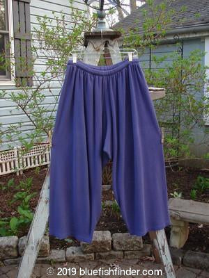 Vintage Blue Fish Clothing 1992 Thermal Crop Pant Periwinkle Size 2- Bluefishfinder.com