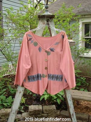 Vintage Blue Fish Clothing 1993 4 Door Jacket Dried Rose OSFA- Bluefishfinder.com