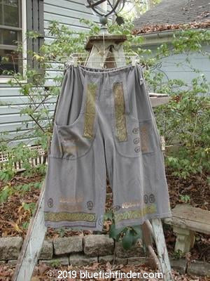 Vintage Blue Fish Clothing 1993 Garden Pant Bars Metal Size 1- Bluefishfinder.com