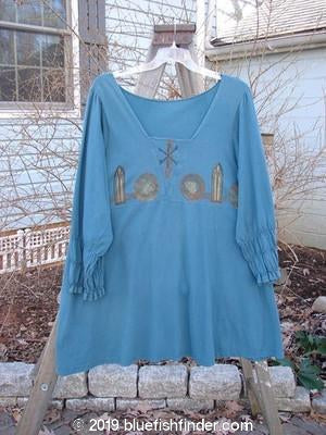 Vintage Blue Fish Clothing 1993 Juliet Dress Teal Small Size 2- Bluefishfinder.com