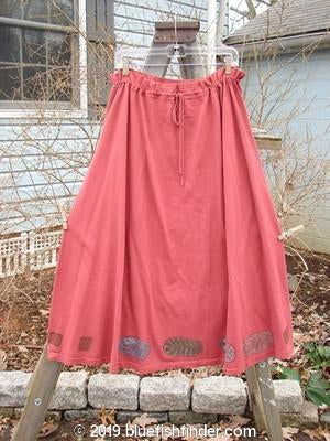 Vintage Blue Fish Clothing 1993 Sweep Skirt Autumn Red Size 1- Bluefishfinder.com