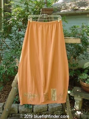 1994 4 Square Skirt Mixed Ochre Size 1-Vintage Blue Fish Clothing- Bluefishfinder.com