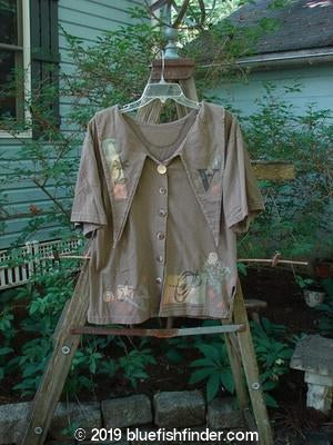 Vintage Blue Fish Clothing 1994 Compass Top Mixed Stone Size 1- Bluefishfinder.com