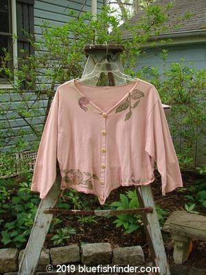 Vintage Blue Fish Clothing 1994 Curve Shirt Fairy Pink Granite Size 1- Bluefishfinder.com
