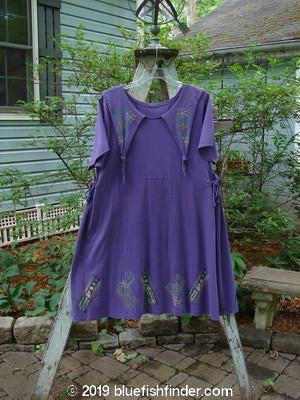 Vintage Blue Fish Clothing 1994 Elfin Dress Mixed Theme Purple Nuit Size 2- Bluefishfinder.com