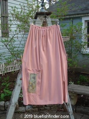 Vintage Blue Fish Clothing 1994 Pocket Skirt Garden Pink Granite Size 2- Bluefishfinder.com