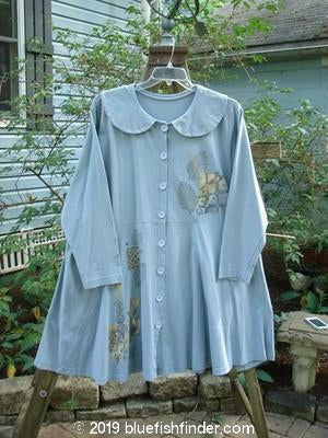 Vintage Blue Fish Clothing 1994 Poppy Dress Fall Garden Solstice Blue Size 2- Bluefishfinder.com