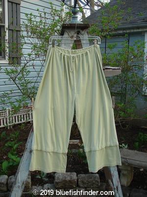 Vintage Blue Fish Clothing 1994 Snap Pant Celery Size 1- Bluefishfinder.com