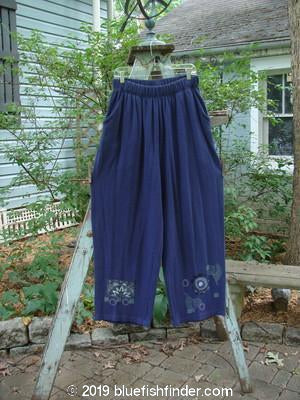 Vintage Blue Fish Clothing 1995 Fitzgerald Pant Star Rise Royal Orchid Size 2- Bluefishfinder.com