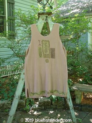 Vintage Blue Fish Clothing 1995 Crop Sweater Tank Dress Primitive Shell Heart OSFA- Bluefishfinder.com