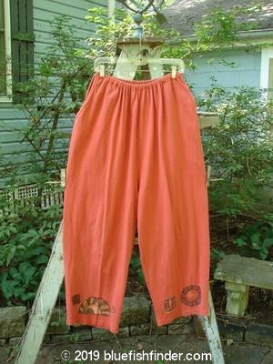 Vintage Blue Fish Clothing 1995 Vagabond Pant Fan Red Glaze Size 2- Bluefishfinder.com