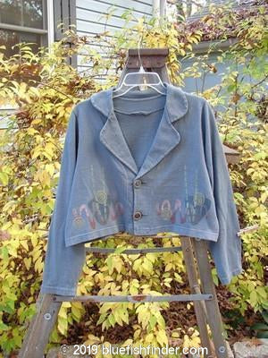 Vintage Blue Fish Clothing 1996 Charade Jacket Abstracts Mirror Size 1- Bluefishfinder.com