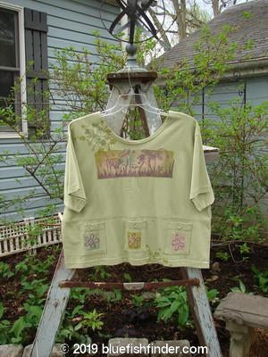 Vintage Blue Fish Clothing 1996 Collectors Top Sprouting Seedling Size 2- Bluefishfinder.com