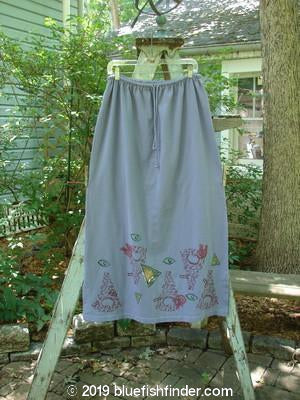 Vintage Blue Fish Clothing 1996 Drawcord Skirt Modern Face Stratus Size 2- Bluefishfinder.com