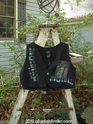 Vintage Blue Fish Clothing 1996 Earthstar Vest Wind Power Storm Size 1- Bluefishfinder.com