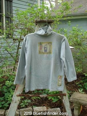 Vintage Blue Fish Clothing 1996 KIDS Turtleneck House Tree Air Size 3- Bluefishfinder.com