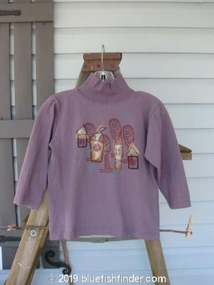 Vintage Blue Fish Clothing 1996 KIDS Turtleneck Village Mulberry Size 2- Bluefishfinder.com