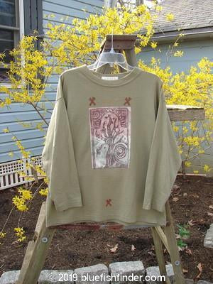 Vintage Blue Fish Clothing 1996 Long Sleeved Tee Old Tree Vine Size 0- Bluefishfinder.com