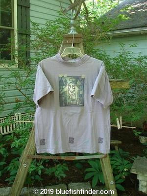 Vintage Blue Fish Clothing 1996 Short Sleeved Tee Single House Mulberry Size 0- Bluefishfinder.com