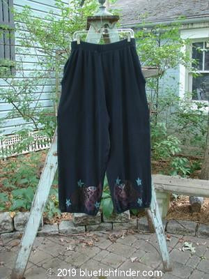 Vintage Blue Fish Clothing 1996 Thermal Explorer Pant Many Moons Black Size 2- Bluefishfinder.com