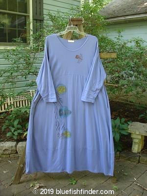 Vintage Blue Fish Clothing 1997 Exquisite Dress Abstracts Skylark Size 1- Bluefishfinder.com