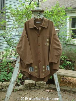 Vintage Blue Fish Clothing 1997 Hearth Jacket Turn Key Lumber OSFA- Bluefishfinder.com