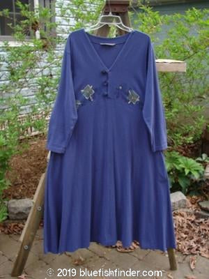 Vintage Blue Fish Clothing 1997 Mascareri Dress Daisy Crescent Moon Size 1- Bluefishfinder.com