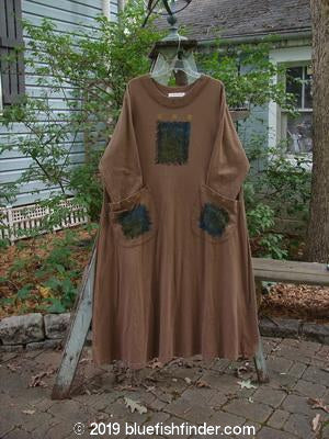 Vintage Blue Fish Clothing 1997 Persian Dress Wind Window Mandorla Size 0- Bluefishfinder.com
