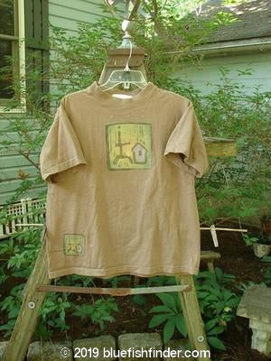 Vintage Blue Fish Clothing 1997 Short Sleeved Tee Primitive Lumber Size 0- Bluefishfinder.com