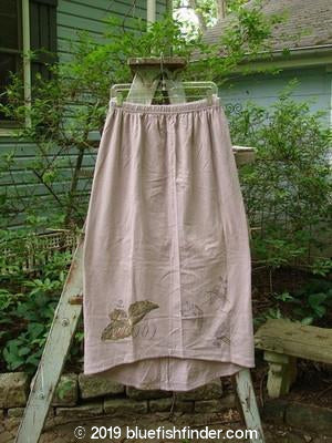Vintage Blue Fish Clothing 1998 Botanicals Corolla Skirt Passiflora Size 2- Bluefishfinder.com