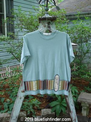 Vintage Blue Fish Clothing 1998 Short Sleeved Tee Number 19 Pool Size 1- Bluefishfinder.com