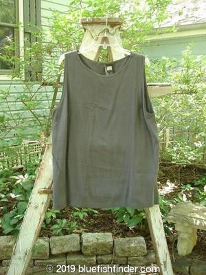 Vintage Blue Fish Clothing 1998 Summer Tank Graphite Size 2- Bluefishfinder.com