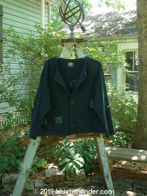 Vintage Blue Fish Clothing 1999 Cottage Cardigan Coffee Peacock Size 2- Bluefishfinder.com
