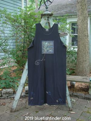 Vintage Blue Fish Clothing 1999 River Journey Dress Butterfly Raven Size 2- Bluefishfinder.com